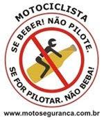 SE BEBER! NÃO PILOTE.