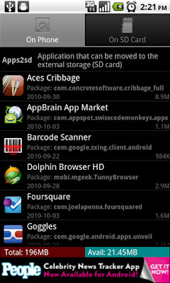 Apps2sd Pro – How to Move Apps to SD Card on Android Phone