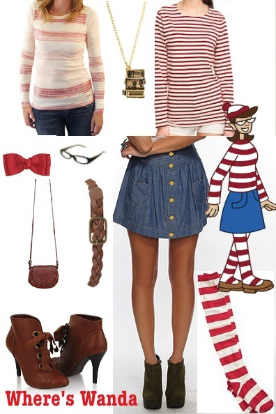 Cute Costume Ideas Inspired By Fashion Tickle Me Chic