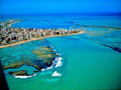Foto de praia em Maceio - Alagoas