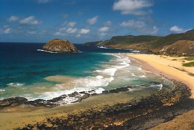 Praia do Leão fernando de noronha
