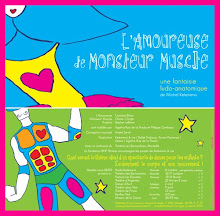 "AGATHA designs the clothing of the play ""L'AMOREUSE DE MONSIEUR MUSCLE"""