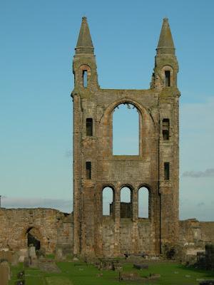 viajar Escocia Catedral Saint Andrews gótico