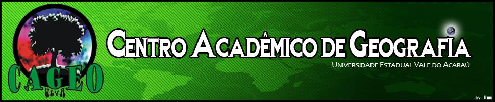 .::CAGEO - UEVA::. Centro Acadêmico de Geografia