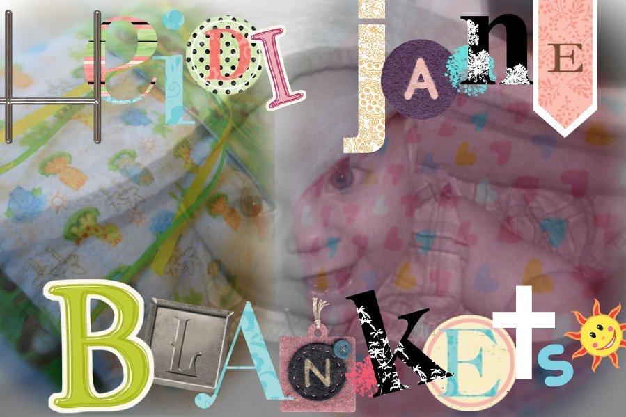 I Adore Heidi Jane Blankets