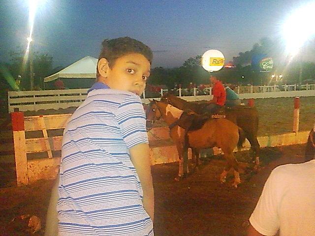 Eu e  a cavalaria