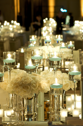 Faustine s christmas centerpiece with wedding
