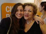 Leila Navarro, uma das melhores palestrantes do Brasil, e eu.