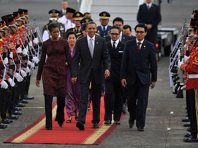 Kedatangan Barak Obama ke Indonesia