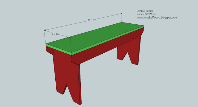 Wood Bench Plans - How to Build A Wooden Bench