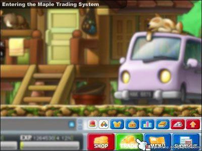 Maplestory cash trading system