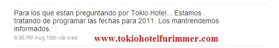 [INFO] Tokio Hotel & L'Amérique 2010 [Edit 22.09.10] - Page 2 Info
