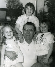 My Gramp Richardson and my sisters and I