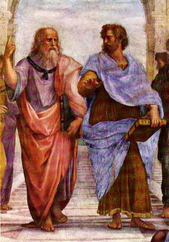 Plato and Aristote