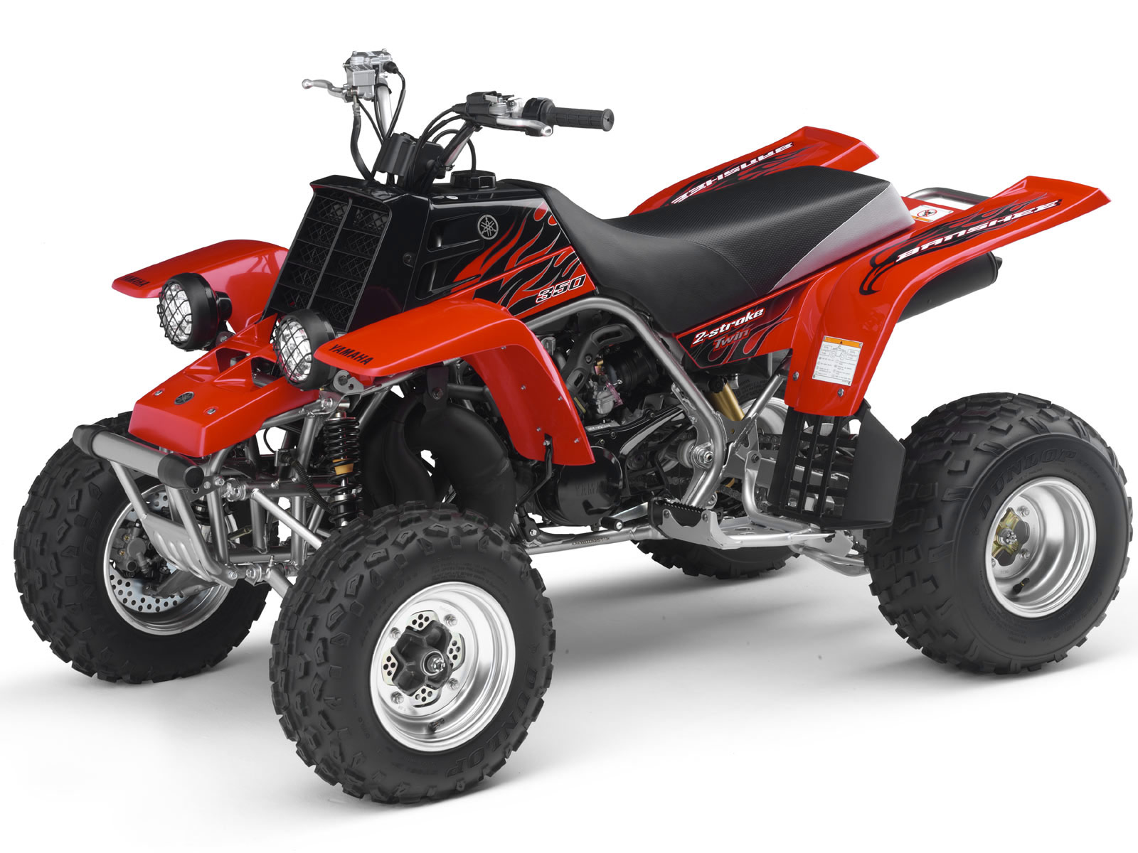 YAMAHA ATV pictures. 2006 Banshee 350 Accident lawyers info.