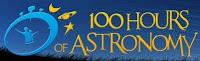 Logo ufficiale manifestazione '100 ore di astronomia'