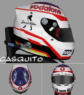 Nuevo casco Fernando Alonso en Mclaren
