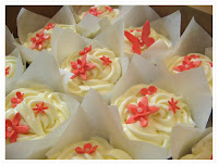 vanilla with orange buttercream icing the challenge with this orde