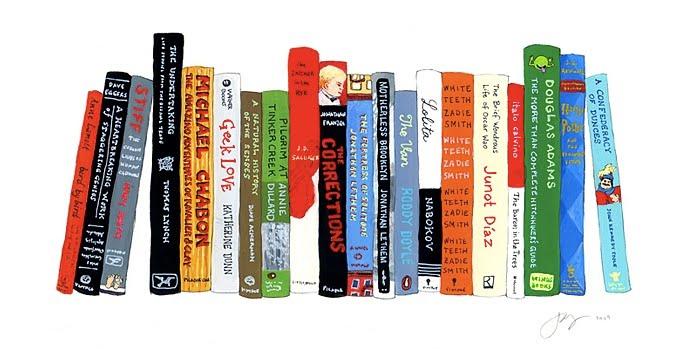 Jane Mounts Ideal Bookshelf