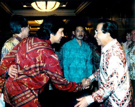 REI, Enggartiasto Lukito, Ikang Fawzi, Bambang Trihatmojo