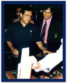 Ikang Fawzi bersama Sang Guru Properti Mantan Menpera Akbar Tanjung