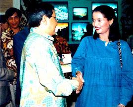 Marissa Haque & Menpera Bang Akbar Tanjung, Mantan Menpera