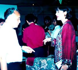 Prof. Wardiman Mendikbud & Marissa Haque Fawzi