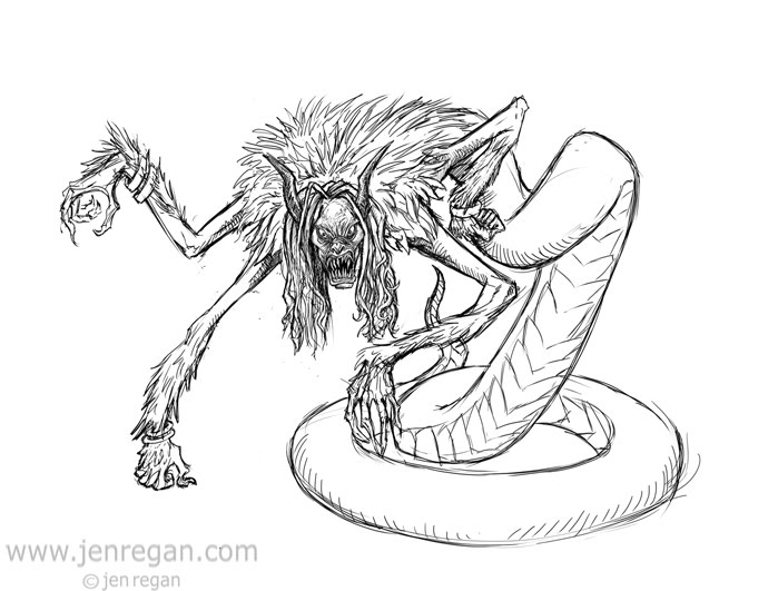 monster snake coloring pages - photo#41