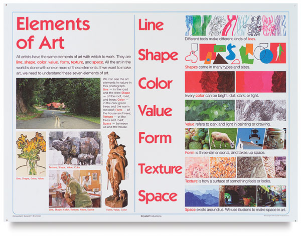 Elements Of Art Definitions And Examples : Morgan s visual idea journal july