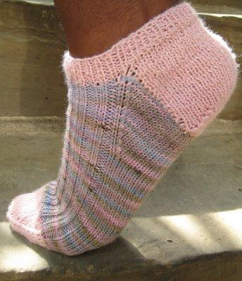 Knitting Patterns Heel Less Socks : Sherris Jubilee: September 2010
