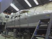 Prefabricado y montaje de pulpitos, barandillas, esaleras todo en ACERO INOXIDABLE para la nautica