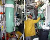 Reparaciones, mantenimiento correctivo, preventivo de equipos y sistemas de sala de maquinas