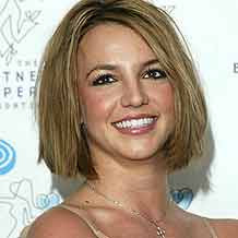 britney spears short hair