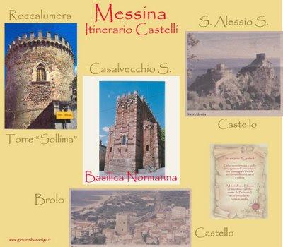 ITINERARIO TRA I CASTELLI DELLA PROVINCIA DI MESSINA