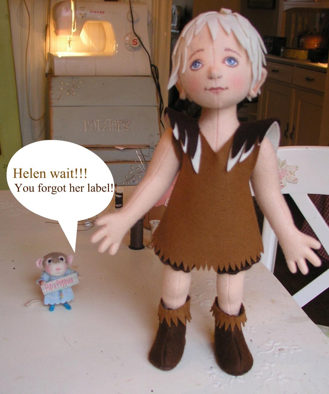 Сшить кукол из фетра 635