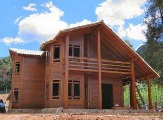 Casas ecol gicas en m xico qu materiales son m s - Casas ecologicas de madera ...