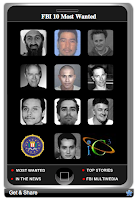 Image of FBI Most Wanted widget