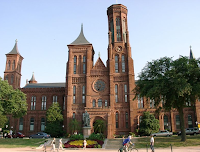 The Smithsonian Castle on the National Mall, Washington DC