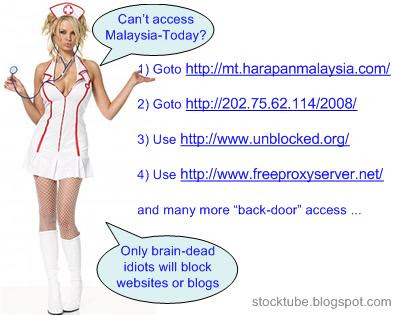Ways to access Malaysia Today
