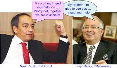 Najib Nazir Razak Stimulus Plan