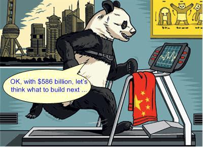 China $586 billion Stimulus Package