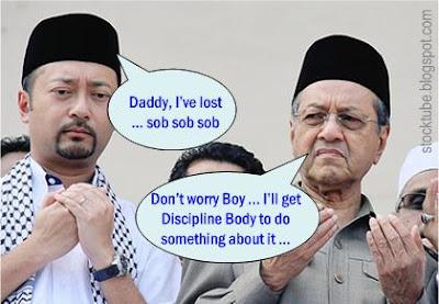 Mukhriz Mahathis Lost UMNO Youth