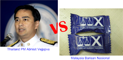 Thai PM vs BN