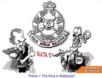 Police Malaysia is the King