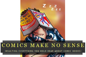 Comics Make No Sense