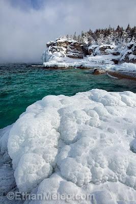 how to get georgian bay islands in winter