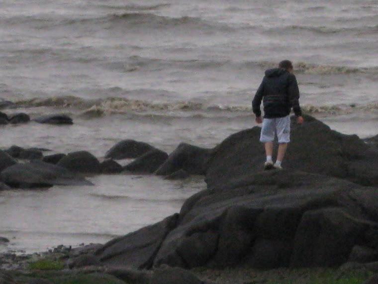 Joey  Port Daniel Beach, QC Canada