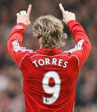 The new Liverpool no.9 superstar- Fernando Torres