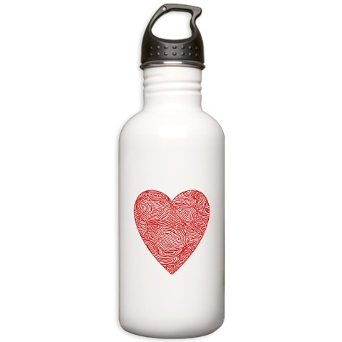Scribbleprints: My Heart Scribble Water Bottle Featured on ...
