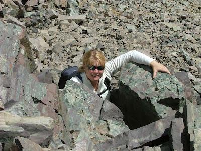 Climbing My First Chimney